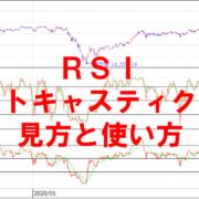 RSI・ストキャスティクスの見方と使い方